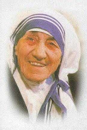 Mother TERESA - Gonxhe Bojaxhiu - August 27, 1910 - September 5, 1997