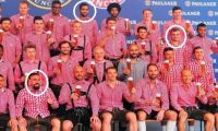 Lojtarët muslimanë refuzuan të paraqiten në foto me gotë birre me Bajernin