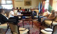 Kryetari Ahmeti priti në takim nënkampionen botërore të boksit, Donjeta Sadiku
